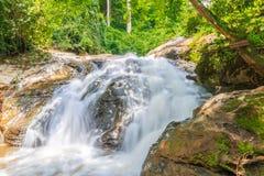 cascade de maesa au chaingmai Thaïlande du nord de maerim Photographie stock