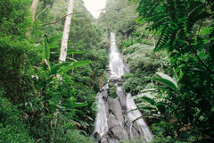 Cascade de Manikmoyo photos libres de droits