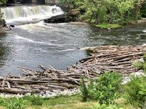 Cascade de Middlebury Vermont Images libres de droits
