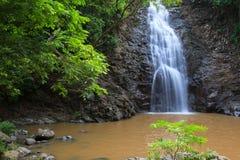 Cascade de Montezuma en Costa Rica Photos stock