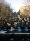Cascade de Morlais de rivière images libres de droits