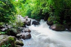 Cascade de Nangrong dans la province de Nakhon Nayok Images stock