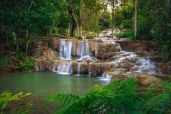 Cascade de Ngao, lampang, Thaïlande Image stock