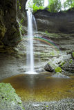 Cascade de Paehler Schlucht Photos libres de droits