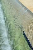 Cascade de piscine Images libres de droits