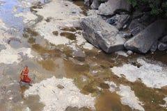 Cascade de Popokvil, Kep Photo libre de droits