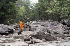 Cascade de Popokvil, Kep Photos libres de droits