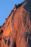 Cascade de queue de cheval, parc national de Yosemite, la Californie, Etats-Unis Images libres de droits