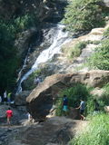 Cascade de Rawana dans Sri Lanka Photo stock
