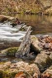 Cascade de rivière d'hurlement photographie stock