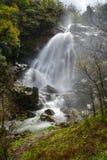 Cascade de rivière de Belelle Image libre de droits