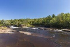 Cascade de rivière de bouilloire Photo stock