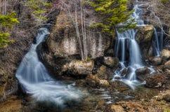 Cascade de Ryuzu à Nikko, Japon Image libre de droits