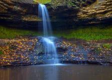 Cascade de Saharna photo stock