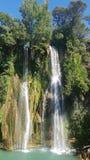 Cascade de Salins 免版税库存图片