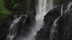 Cascade de Sekumpul dans Bali, Indonésie Au ralenti clips vidéos