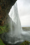 Cascade de Seljalandfoss Photographie stock libre de droits