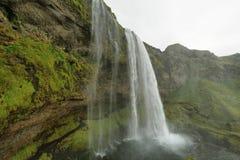 Cascade de Seljalandfoss Image stock