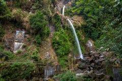 Cascade de sept soeurs chez le Sikkim, Inde Photos libres de droits
