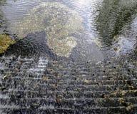Cascade de Sheffield Park - photo de pont Images stock