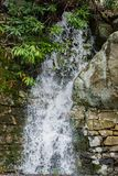 Cascade de temps pluvieux de montagne dans le passage de Goshen - 2 image libre de droits
