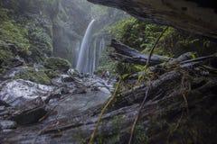 Cascade de Tiu Kelep près de Rinjani, Senaru, Lombok, Indonésie, Asie du Sud-Est Photos libres de droits