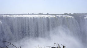 Cascade de Victoria, Zimbabwe, Afrique Photo stock