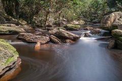 Cascade de vil de Popok Photos libres de droits
