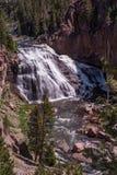Cascade de Yellowstone Images stock