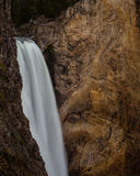 Cascade de Yellowstone Photos stock