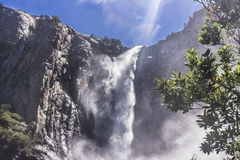 Cascade de Yosemite Photographie stock