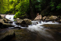 Cascade des Palaos en Thaïlande Photographie stock