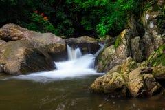 Cascade des Palaos en Thaïlande Images libres de droits