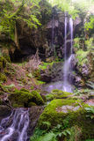 Cascade des Razes, Cantal, Auvergne, France Royalty Free Stock Photography