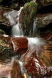 Cascade From Dill Falls North Carolina royalty free stock image
