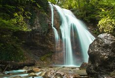 Cascade Djur-Djur Images libres de droits