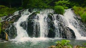 cascade Dokuzak Strandja en Bulgarie banque de vidéos