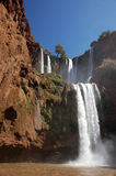 Cascade d'Ouzoud, Waterfall, Morocco Stock Photography