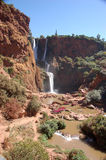Cascade d'Ouzoud, Waterfall, Morocco Royalty Free Stock Photography