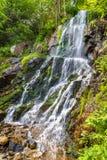 Cascade du Kreuzweg, ein Wasserfall in den Vosges - dem Frankreich Stockbilder