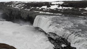 cascade en île Photo libre de droits