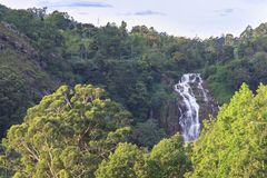 Cascade en Ella - le Sri Lanka photo libre de droits