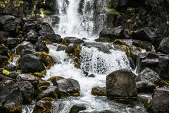 Cascade en Islande Image libre de droits