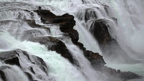 Cascade en Islande banque de vidéos
