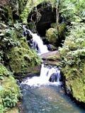 Cascade en Minas Gerais, Brésil photo stock