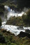 Cascade en Norvège Images stock