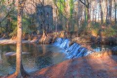 Cascade en parc de Lullwater, Atlanta, Etats-Unis Photo stock