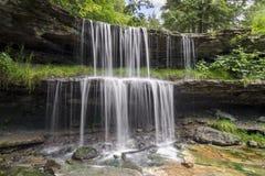 Cascade en parc de roulement du ` s Oglebay images stock