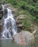 Cascade en parc national de Lushan Photos stock