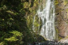Cascade en parc national du passage d'Arthur Photo libre de droits
